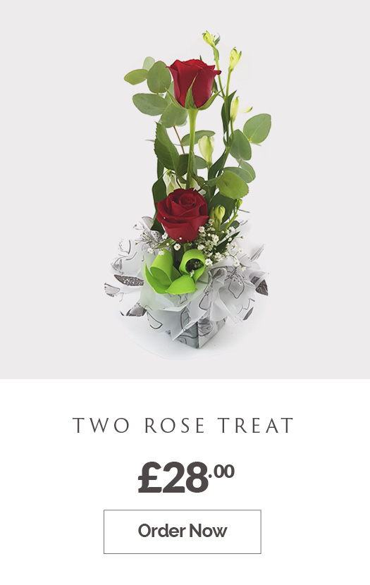 Order Two Rose Treat £28.00