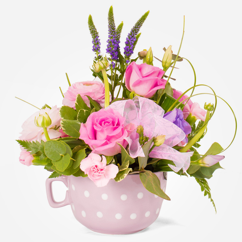 Order Mother's Day Flowers Time for Tea