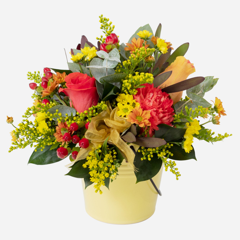 Click to order Pot Of Gold Arrangement