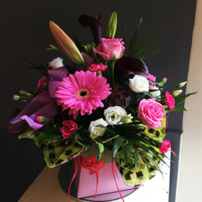 Order Octagon City Box Flowers