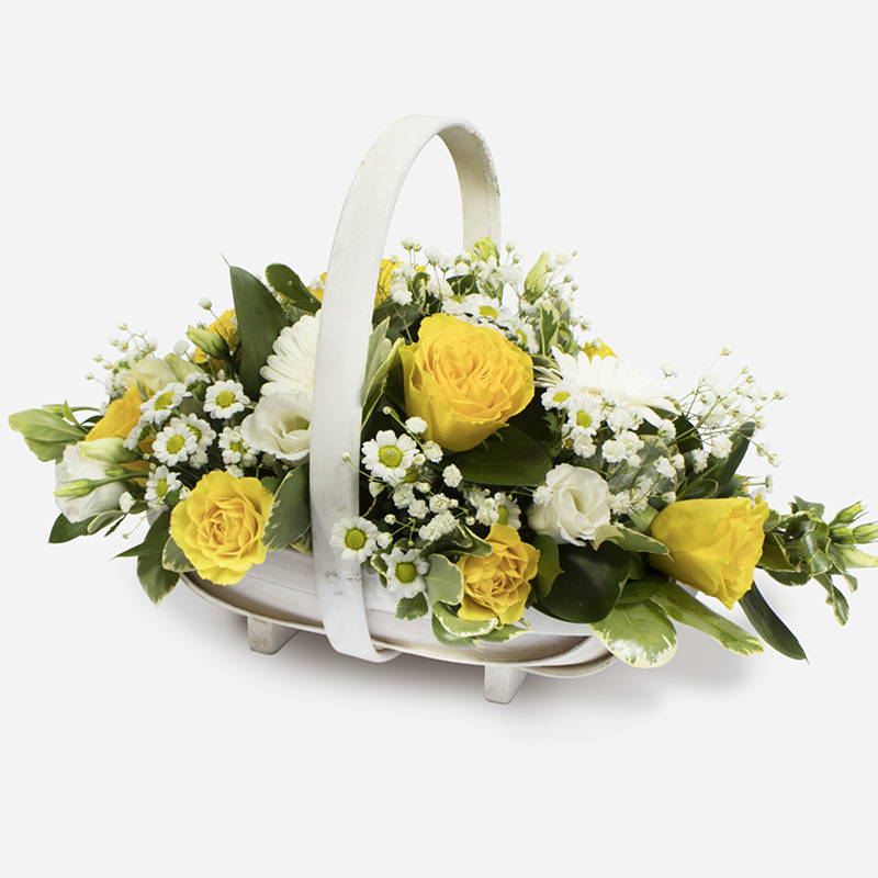 Order Basket SYM-347 flowers