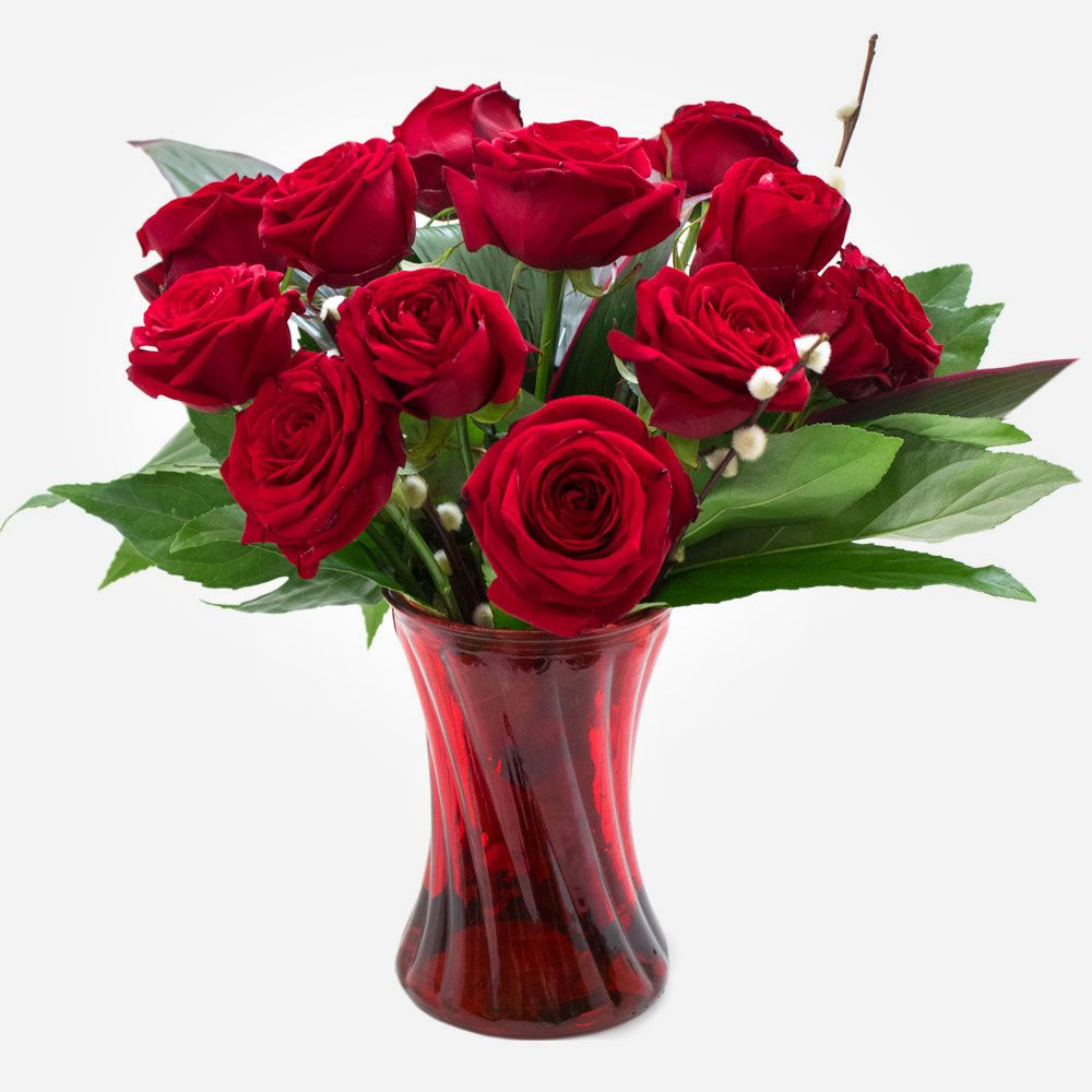 Order Finest Dozen Red Roses