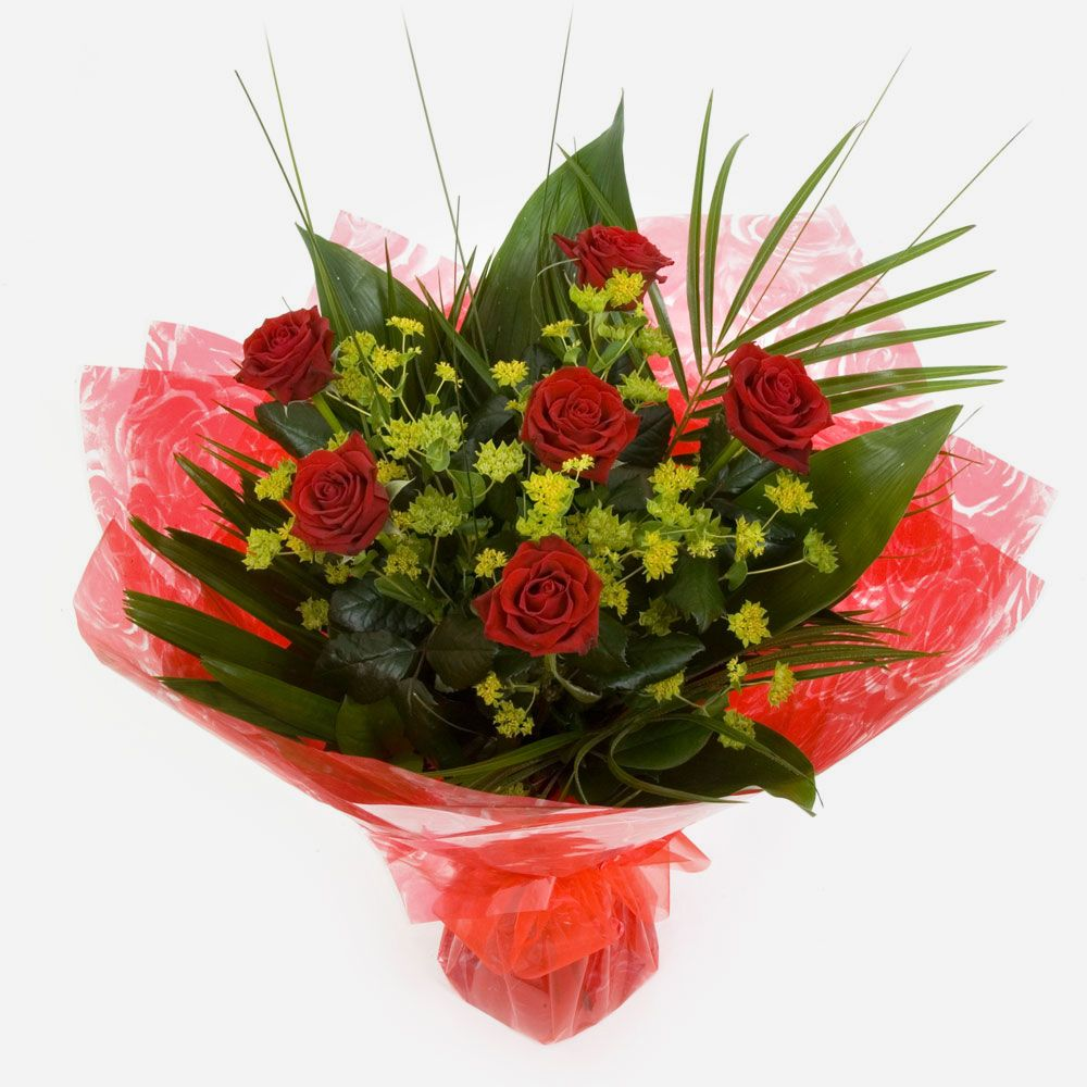 Order 6 Red Roses