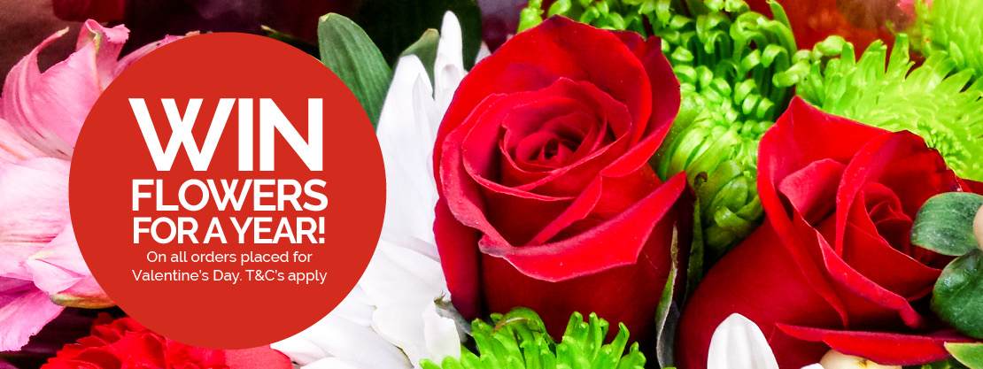 WIN flowers for a year!