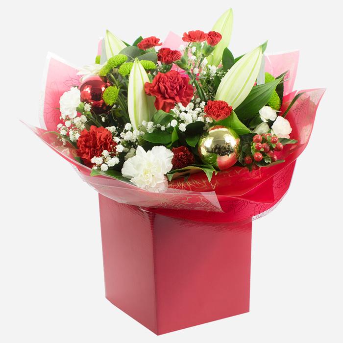 Order Christmas Cheer Hand Tied