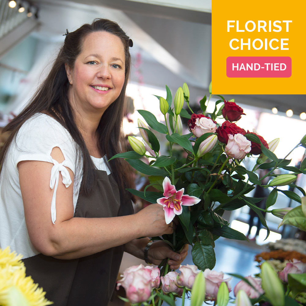 Order Florist Choice Hand-tied flowers