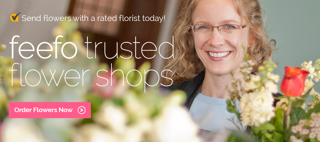 Feefo trusted flower shops in Australia