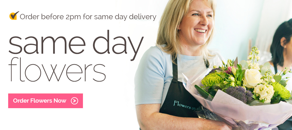 Same day flower delivery by local florists