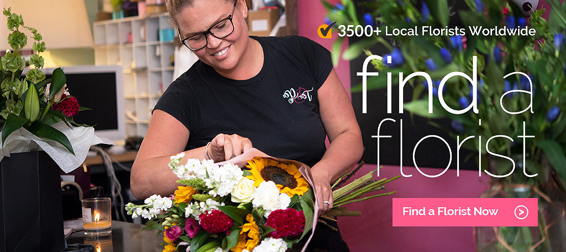 Find a local florist in the UK