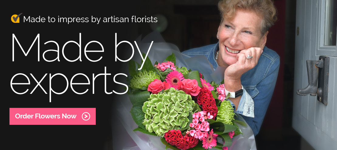 Send flowers made by expert local florists