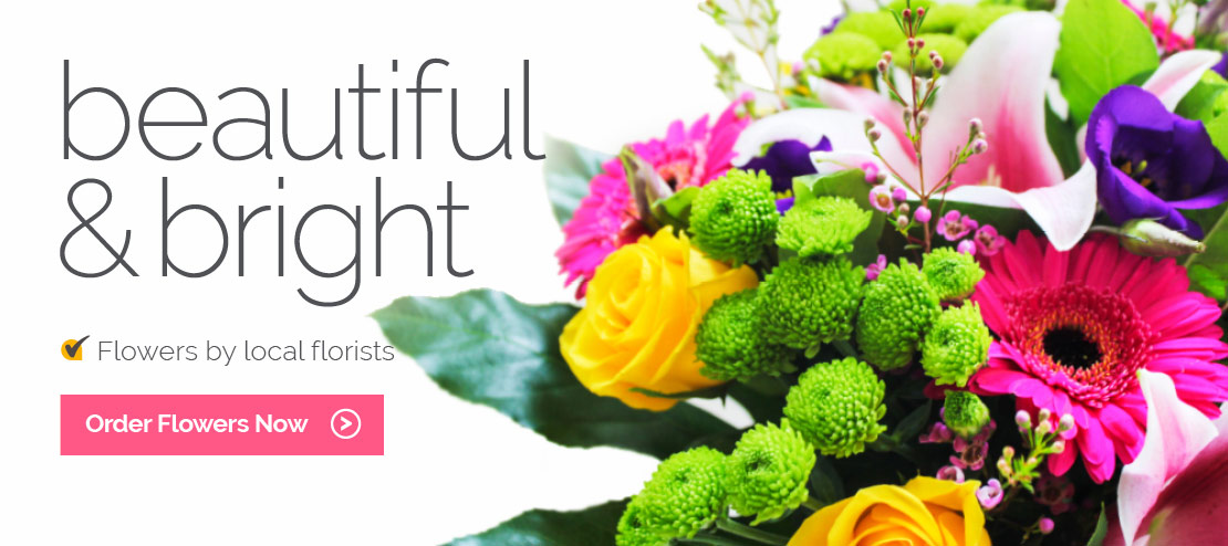 Bright & Beautiful Flowers By Local Florists
