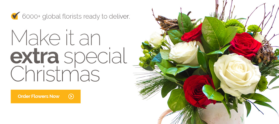 Christmas Flowers Delivery in Belgium