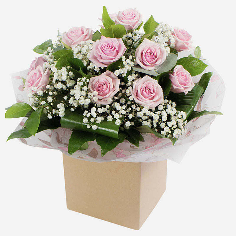 Order Dreamy Dozen Pink Roses flowers
