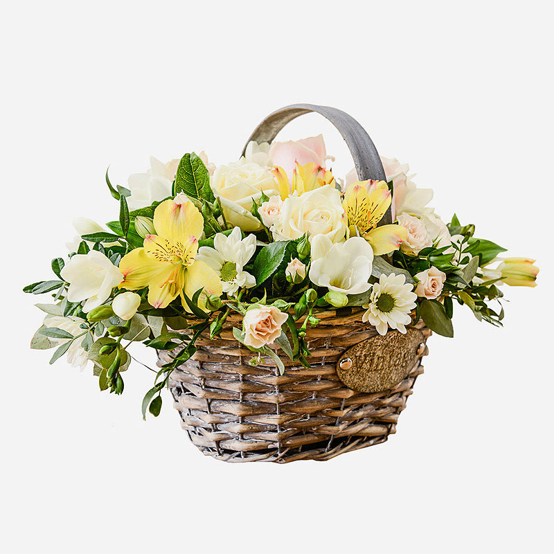 Order Luxurious Basket  flowers