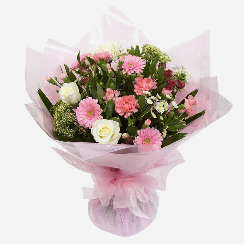 Order Pretty in Pink flowers