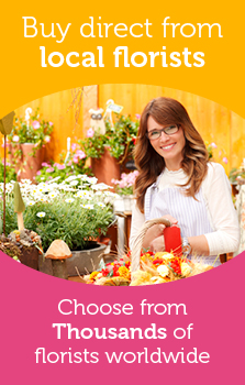 Buy direct from local florists worldwide